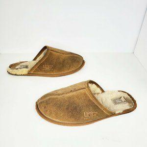 UGG 5172 Scuff Chestnut Sheepskin Lined Slippers